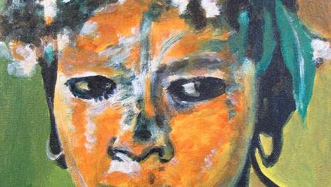 30 x 24 cm Acrylic on canvas