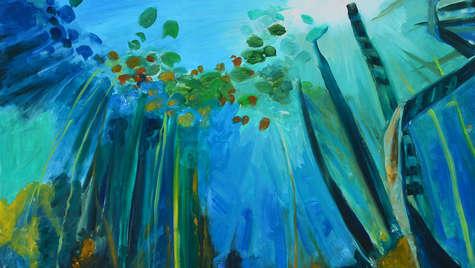 Oil on canvas 120 x 120 cm