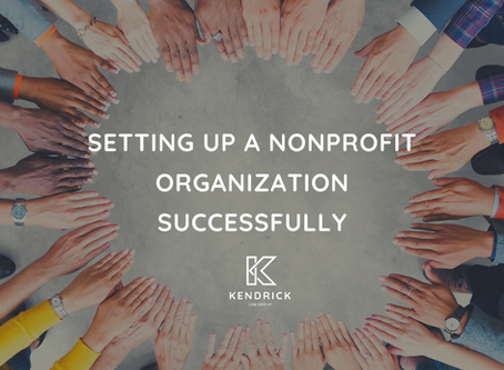 Setting Up A Nonprofit Organization Successfully