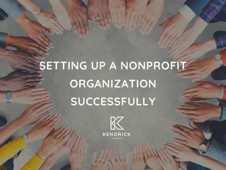 Setting Up A Nonprofit Organization Successfully