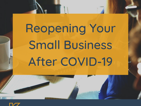Reopening Your Business After Covid-19