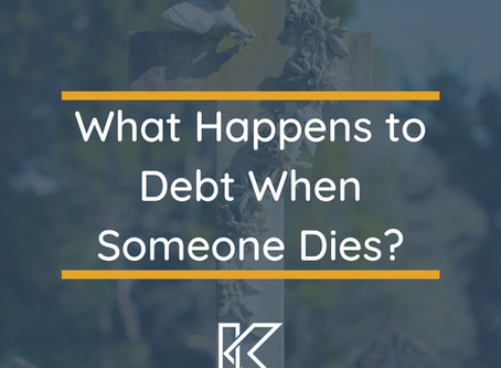 What Happens to Debt When Someone Dies?