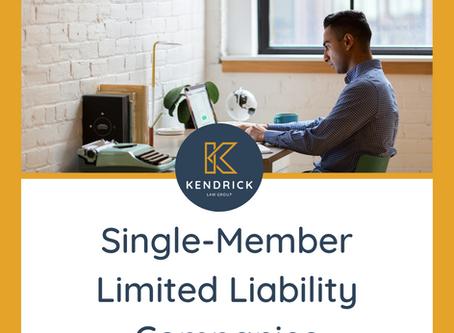 Single-Member Limited Liability Companies