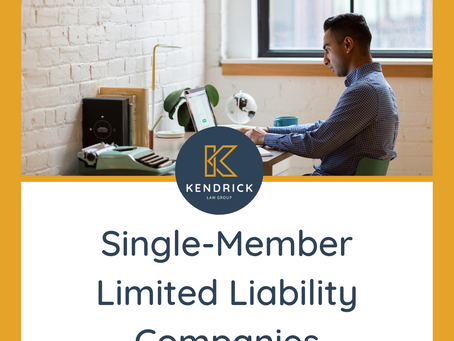 Single-Member Limited Liability Companies