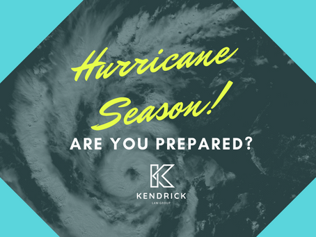 Hurricane Preparedness for Business, Property, and Estate