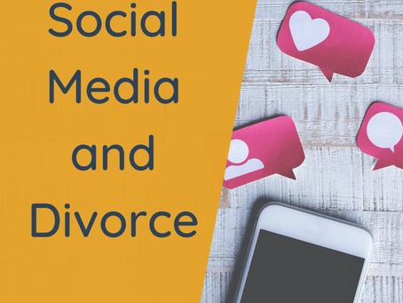 Social Media and Divorce