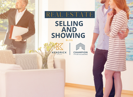 COVID-19 and the Real Estate Selling and Showing Process