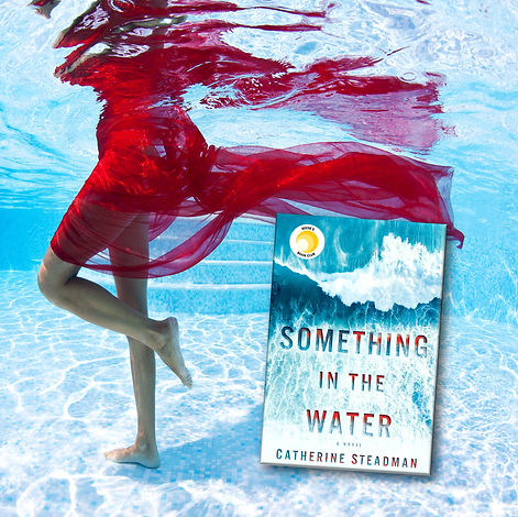 something in the water promo red dress.j