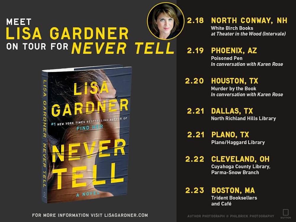 Lisa Gardner Tour