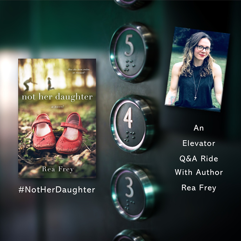 A Q&A Elevator Ride with the Author