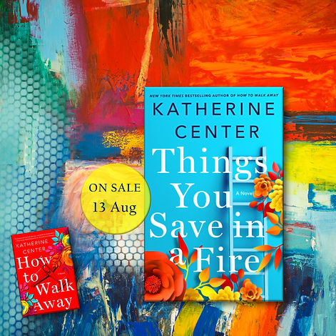 things you save in a fire promo abstract