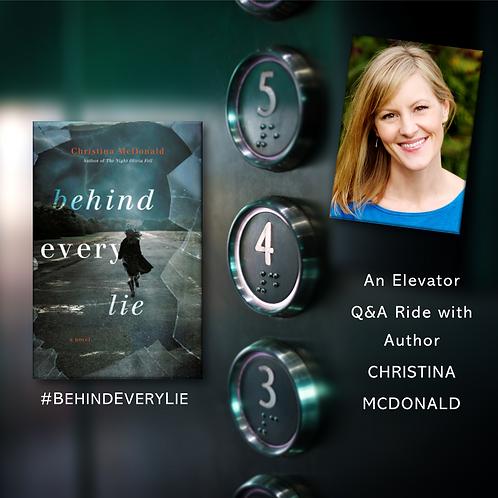 elevator ride CHRISTINA MCDONALD Behnd E