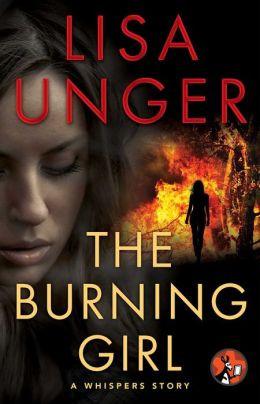 the burning girl.