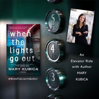 elevator ride with Mary Kubica.jpg