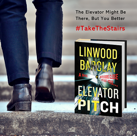 ELEVATOR PITCH PROMO take the stairs ste