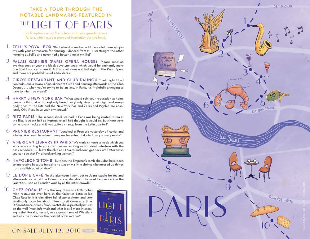 Teh Light of paris Tour