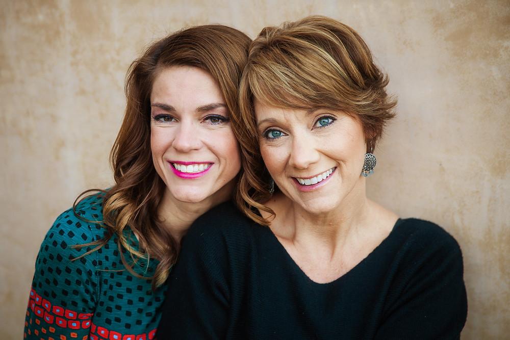 Lindsey Leavitt and Robin Mellom
