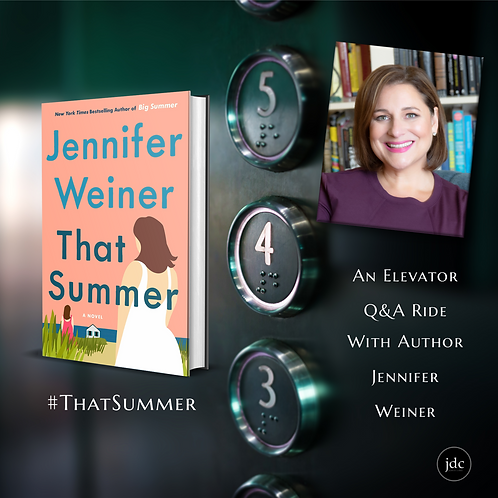 Elevator Ride with Jennifer Weiner THAT