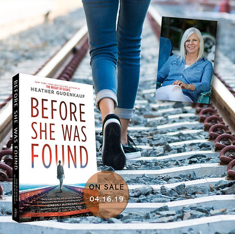 BEFORE SHE WAS FOUND railroad track with