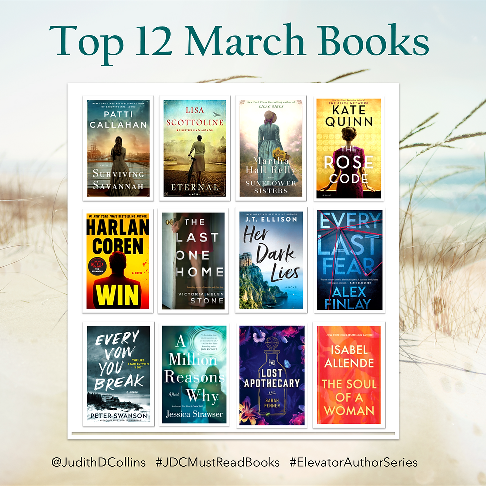 REVISED Top 12 March Books beach dunes t