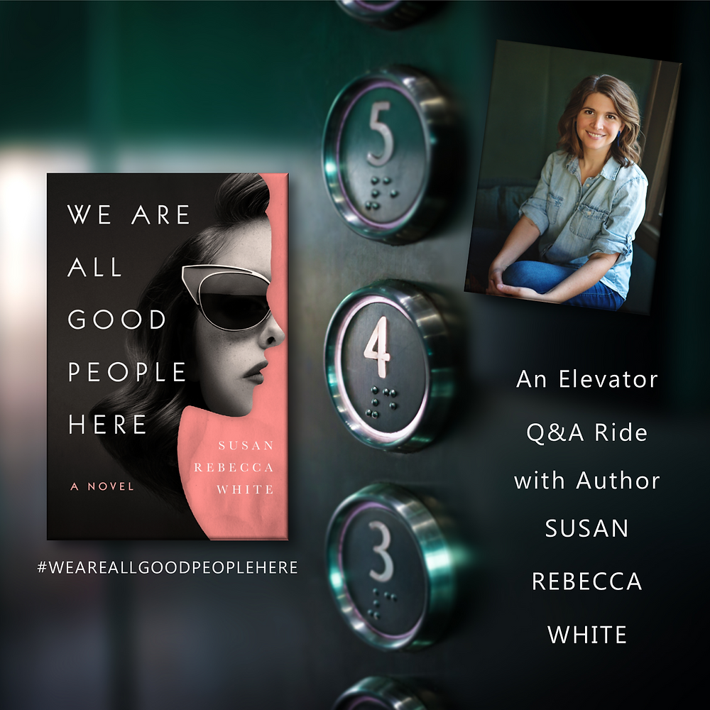 Elevator ride with Susan Rebecca White