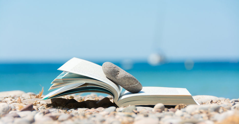 Reading in summer vacation, concept_edit