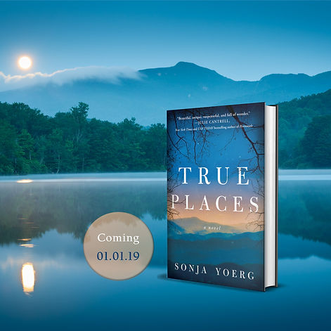 True Places promo paperback circle good.