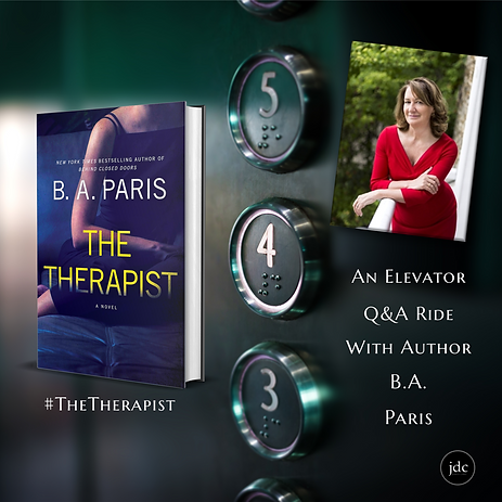 Elevator Ride with BA Paris The Therapis