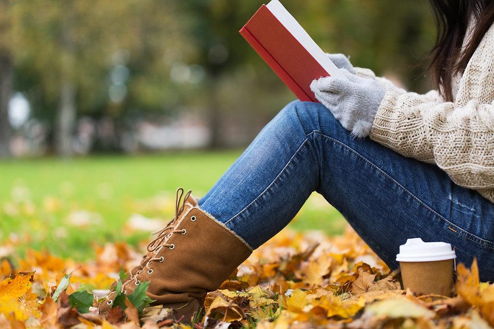 Girl Reading autumn fall coffee book.jpg