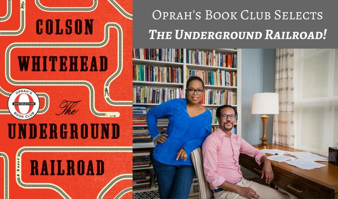 Oprah Book Club - Colson Whitehead