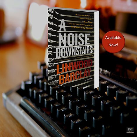 a noise downstairs promo paperback now.j