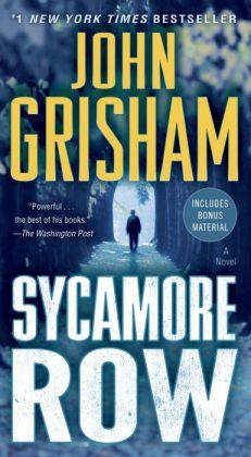Sycamore Row A Novel (Jake Brigance #2).JPG