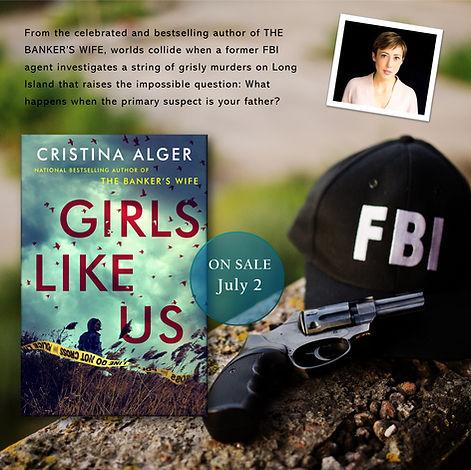 girls like us promo fbi gun WITH AUTHOR