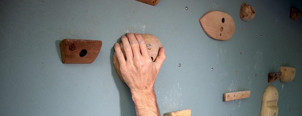 sloper holds hardwood