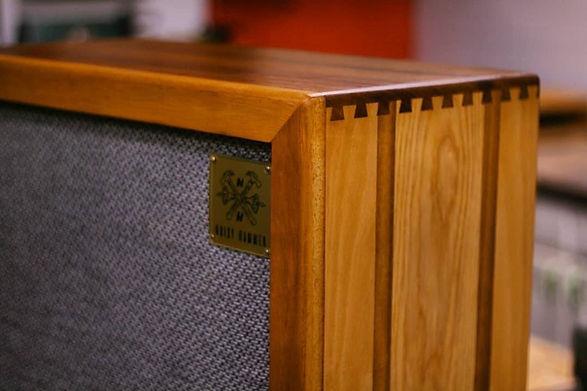 Custom Hardwood Guitar Cabinet