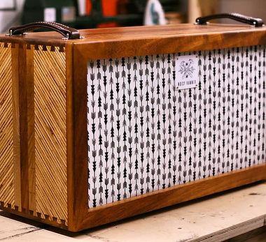 Hardwood Custom Guitar Cabinet 2x12