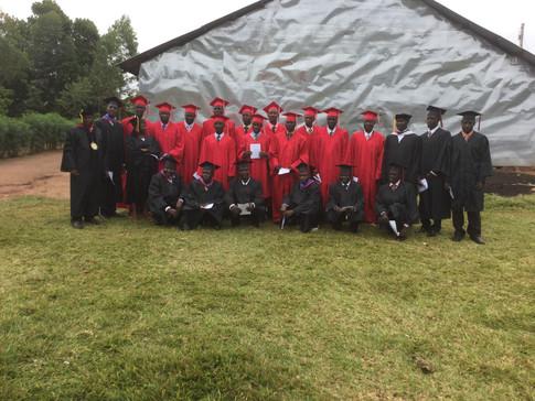 Bukeeka Evangelical School of Theology graduates