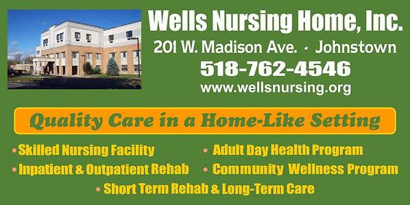Wells Nursing Titans Baseball ad May 201