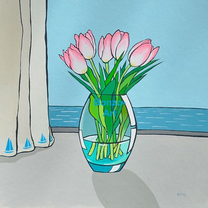Tulips and Sea Breeze