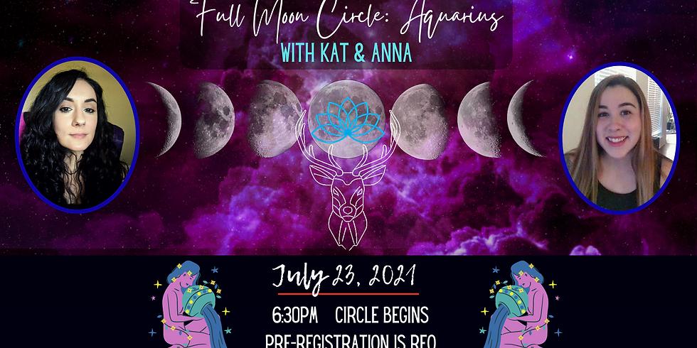 July Full Moon in Aquarius