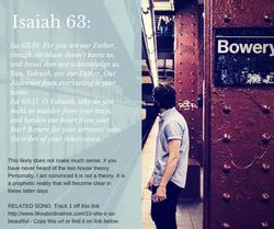 Isaiah 63: 2 houses of Israel