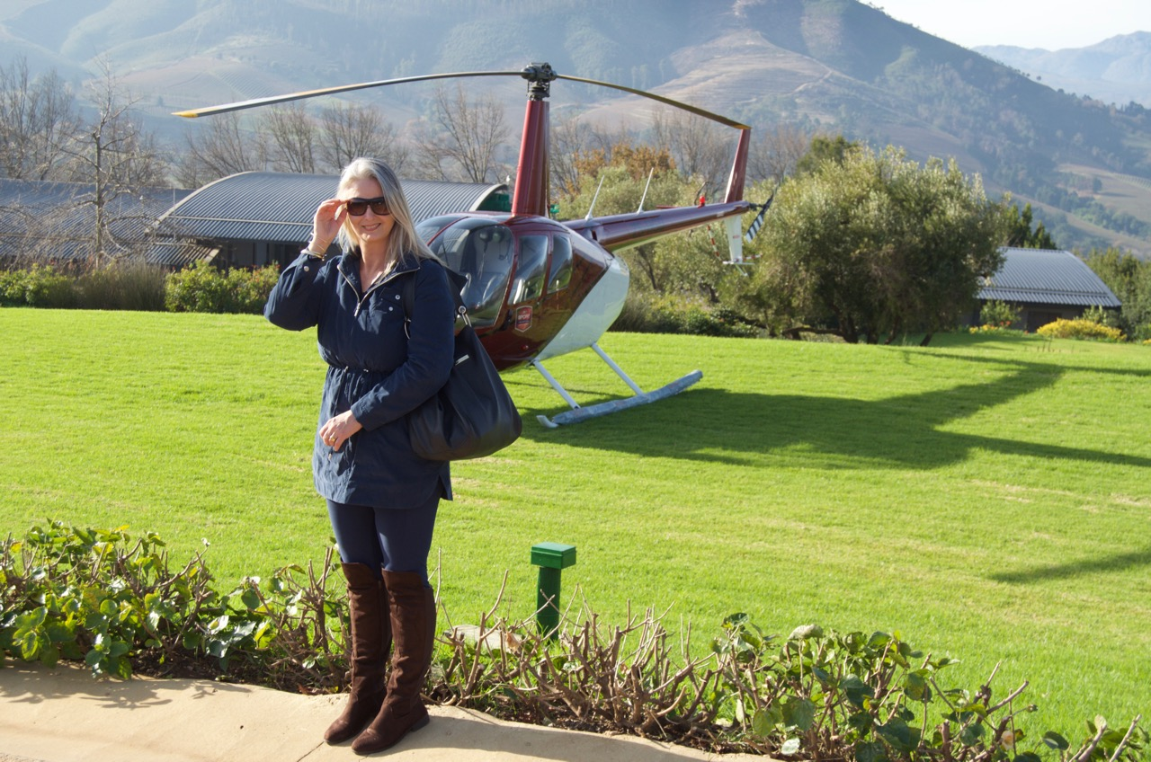 Adia Helicopter Delaire Graff