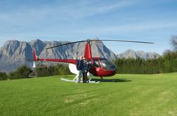 Adia & Gerald Delaire Graff Helicopter
