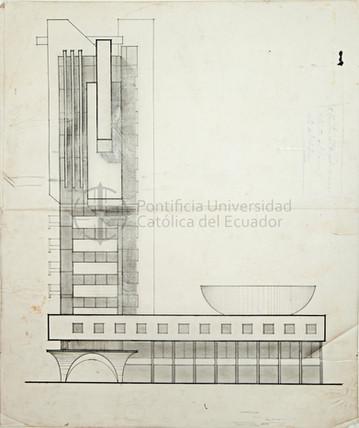 EDIFICIO PRINCIPAL DEL CONSEJO PROVINCIAL DE CHIMBORAZO
