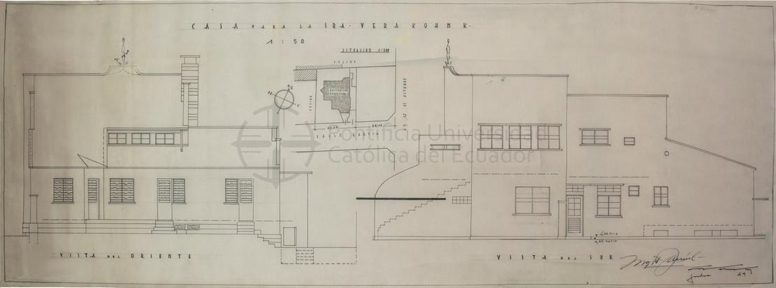 RESIDENCIA VERA SCHILLER KOHN - QUITO, 1949