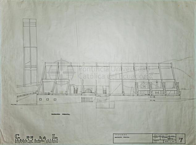 TEMPLO DE LA PATRIA - QUITO, 1976