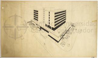 HOTEL COLON - QUITO,1965