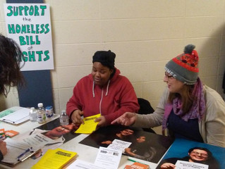 Continued Efforts to Pass The Duluth Homeless Person's Bill of Rights