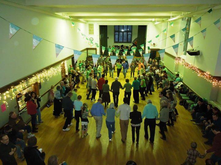 Annual ceili dance