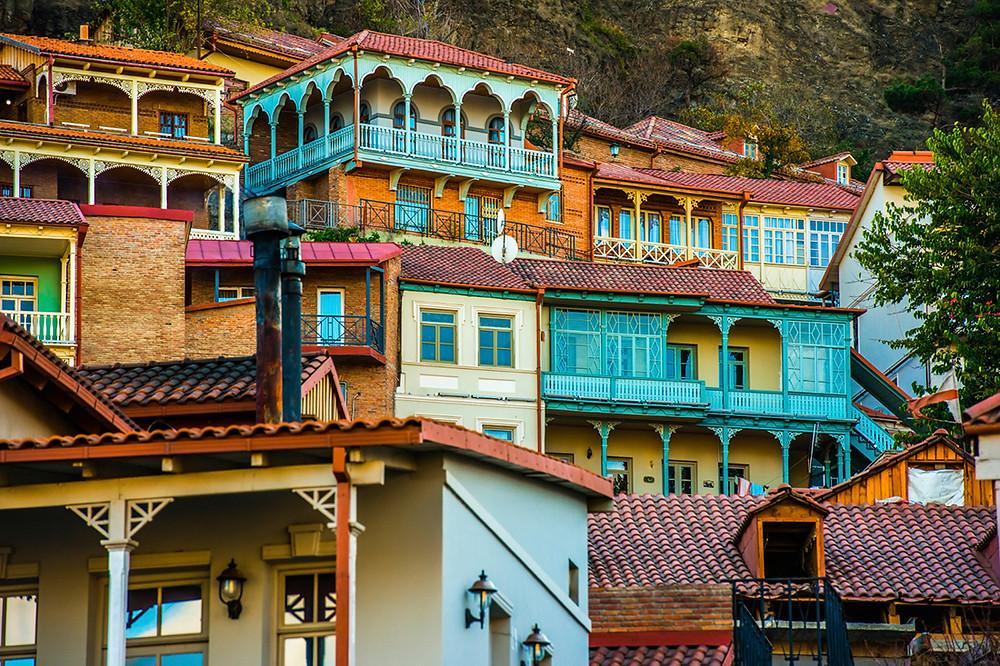 Old town of Tbilisi Georgia